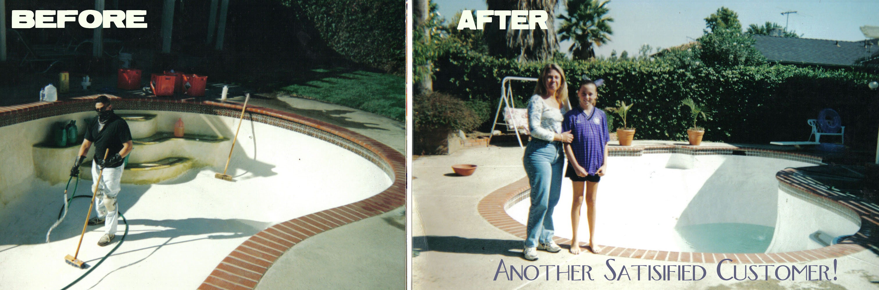 Affordable swimming pool restoration acid wash jobs - How soon can you swim after plastering pool ...